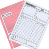 Objednávka Tipas A5 100 listů NCR 4002