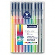 Popisovač Staedtler Triplus color sada 10 barev