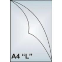 Zakládací obal A4 AH 181 tvar L čirý 180 my