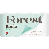 Toaletní papír Bianka třívrstvý Aloe Vera
